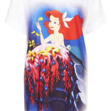 Little Mermaid Print PJ Tee