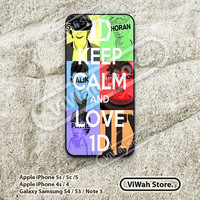 One Direction, Keep Calm, iPhone 5 Case, iPhone 5c Case, iPhone 5s Case, Star, iDol, iPhone 4 Case, iPhone 4s Case, OD09