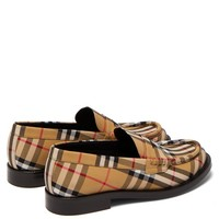 Bedmont Vintage-check loafers | Burberry | MATCHESFASHION.COM US