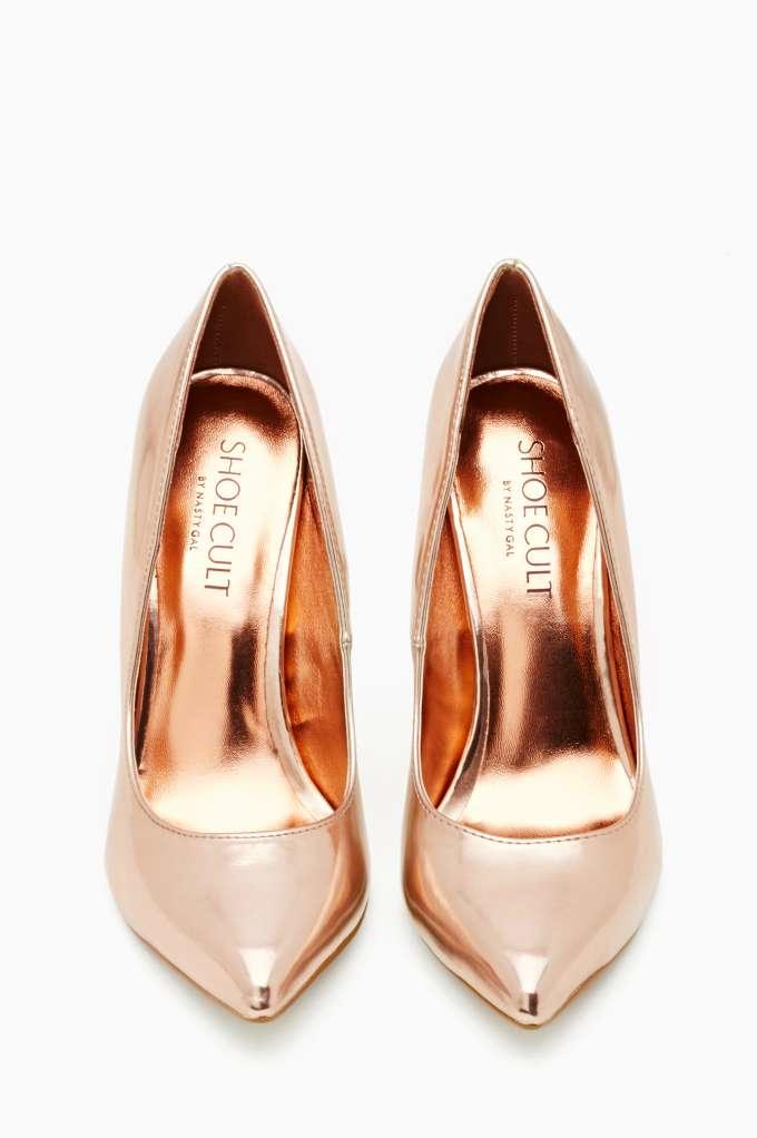 Shoe Cult Luxe Pump Rose Gold From Nasty Gal Shoes