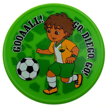 Munchkin Fun Reusable Ice Pack Diego Dora the Explorer Green Lot 2 Soccer Ball