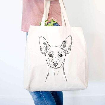 Chillie the Mini Pinscher - Tote Bag