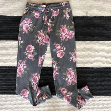 SALE! Whitley Floral Joggers