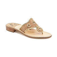 Jack Rogers Nappa Valley Sandals - Cork
