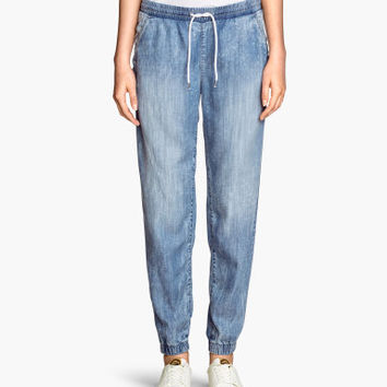 H&M Denim joggers in lyocell £19.99