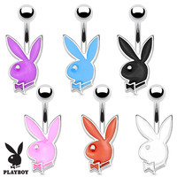 PB Bunny Belly Button Ring 316L Surgical Steel 16G Petite Navel Ring
