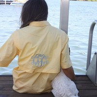 Monogrammed Fishing Shirt | Custom | Personalized