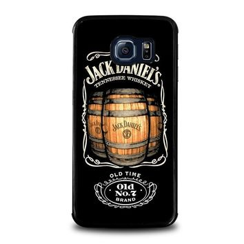 jack daniels samsung galaxy s6 edge case cover  number 1
