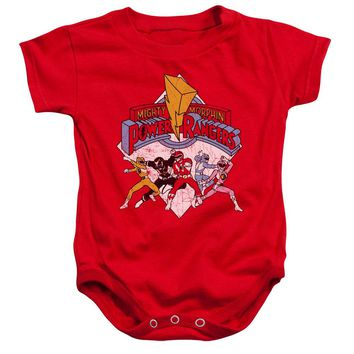 Power Rangers - Retro Rangers Infant Snapsuit