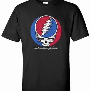 Grateful Dead T-Shirt Steal Your Face Black Tee