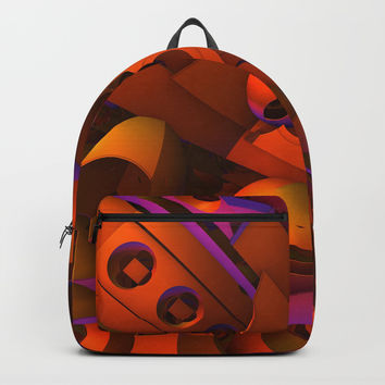 Funhouse Backpacks by Lyle Hatch
