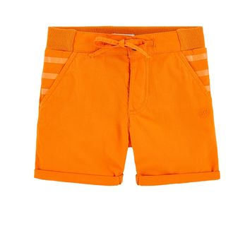 Junior Gaultier Bebe - Sunset Voltaire Shorts, Orange