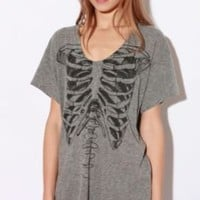 Truly Madly Deeply Pocket Skeletee TeeOnline Only!