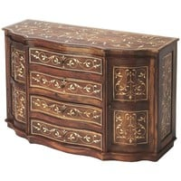 Inlay Chevrier Wood and Bone Inlay Sideboard