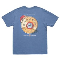 Shotgun Shell Tee in Bluestone by Southern Marsh