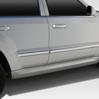 109588 Duraflex SRT Look Side Skirt Rocker Panels - 2 Piece for 2005 Jeep Grand Cherokee at Andy's Auto Sport
