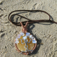 Moon Goddess Tree of Life Pendant with Personalized Back