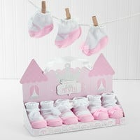 Baby Aspen BA15063NA Little Princess Socks