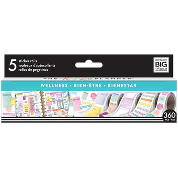 Create 365™ The Happy Planner® Sticker Rolls, Wellness