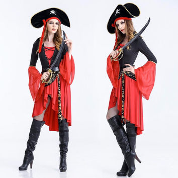 Halloween Pirates Costume for Women