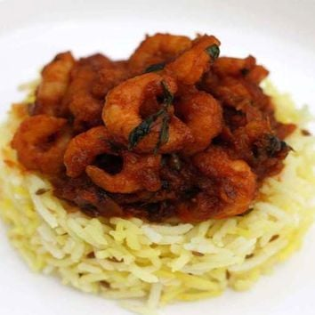 Recipes - My Dads Amazing Prawn Curry