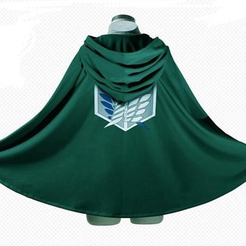 Cool Attack on Titan  Corps investigation cloak cape coat Wings of Liberty AT_90_11