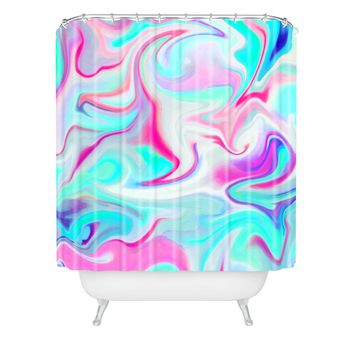Jacqueline Maldonado Liquid 3 Shower Curtain