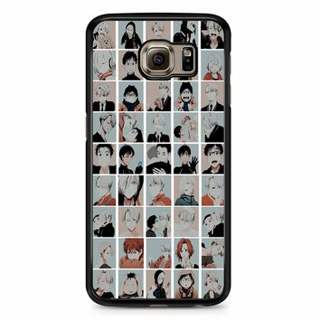 Yuri On Ice Emojis Samsung Galaxy S6 Case