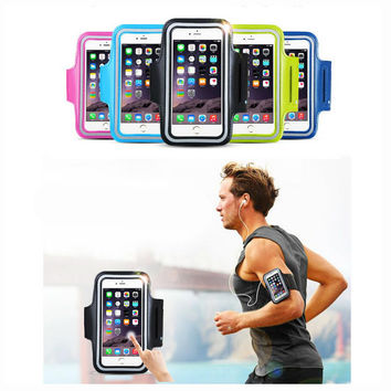 4.1-4.8'' Phone Waterproof Sports Running Arm Band Leather Case Armband Touch For LG K4 Leon Spirit Lancet Optimus Zone 3 P920