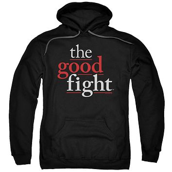 The Good Fight Hoodie Logo Black Hoody