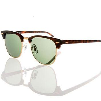 Kalete New & Authentic Ray-Ban Sunglasses RB 3016 W0366 51mm Tortoise & Grey Green G15
