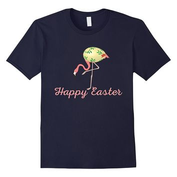 The Pink Flamingo Easter Egg- Flamingos lover T-Shirt