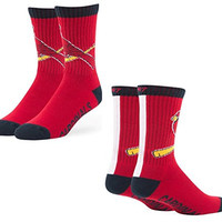 MLB St. Louis Cardinals Men's Bolt '47 Sport Casual Dress Crew Socks, 1-Pack, Red, Medium,Red