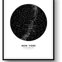 Create Your Own Personalized Map Posters