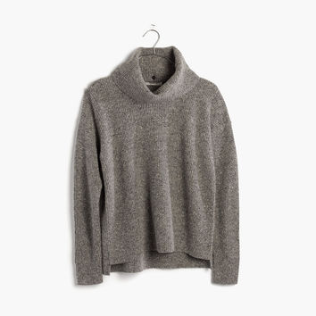 Donegal Convertible Turtleneck Sweater : shopmadewell AllProducts | Madewell