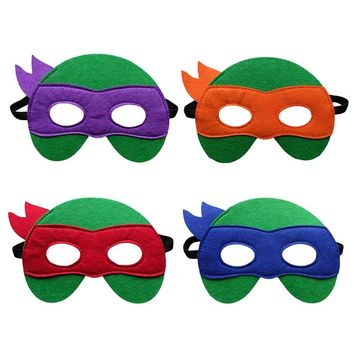 1pcs retail Children's cartoon series Teenage Mutant Ninja Turtles Masquerade Mask TMNT mask