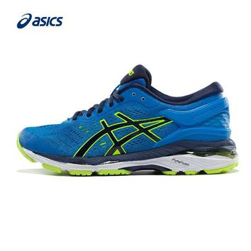 PEAPON Original ASICS GEL-KAYANO 24 Unisex Teenager Stability Running Shoes Sports Shoes Sneakers free shipping