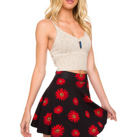 Painted Daisy Skirt