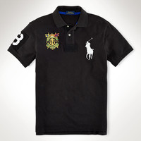 SLIM-FIT BIG PONY CREST POLO
