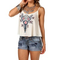 Sale-tribal Embroidered Swing Tank