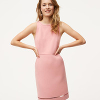 Cutout Pocket Sheath Dress | LOFT