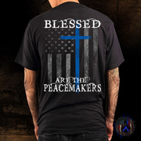 Blessed Are the Peacemakers With Cross
