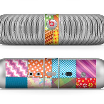 The Patched Various Hot Patterns Skin for the Beats by Dre Pill Bluetooth Speaker
