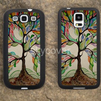 life tree case tree iPhone Hard soft case for samsung galaxy s2 s3 s4 s5 case note 2 3 case iphoen 4/4s 5 5s 5c case A10