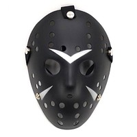 Unisex Jason Voorhees Scary Mask Prop Hockey Halloween Horror Scary Cosplay Creepy Mask Black Friday Props