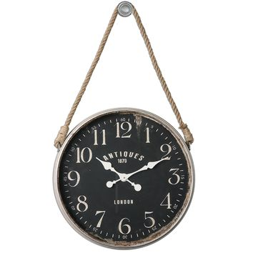 Bartram Wall Clock by Uttermost