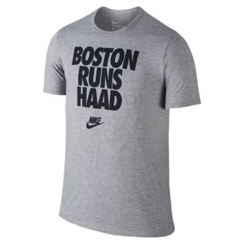 "Nike ""Boston Runs Haad"" Men's T-Shirt"