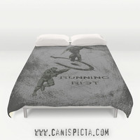 Halo Master Chief Duvet Cover Video Game Bedding Spartan Elite Bed King Queen Full Bedroom Decor Fandom Grey Alien Gamer Guy Dude Geek Gift