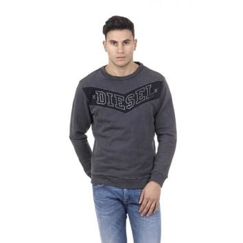 Grey S Diesel Mens Sweater 00SL77 0TAIK 93R