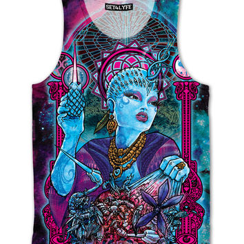Queen of The Cosmos Tank Top